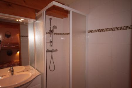 Rent in ski resort Studio sleeping corner 4 people (114) - Résidence Mont Blanc A - Les Saisies - Shower