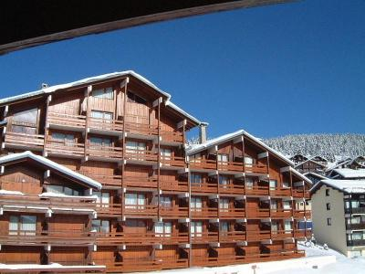 Rent in ski resort Résidence Mont Blanc B - Les Saisies - Winter outside