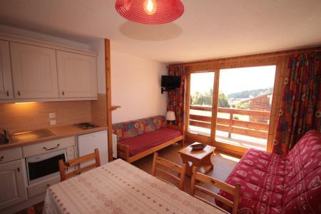 Rent in ski resort 2 room apartment sleeping corner 6 people (210) - Résidence Mont Blanc B - Les Saisies