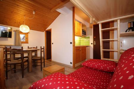 Rent in ski resort Studio 2 people (223) - Résidence Mont Blanc B - Les Saisies