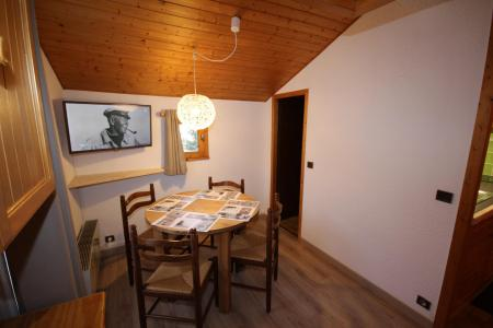 Rent in ski resort Studio 2 people (223) - Résidence Mont Blanc B - Les Saisies - Table