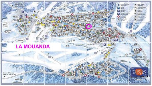 Rent in ski resort Résidence Mouanda - Les Saisies - Plan