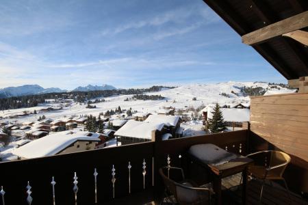 Rent in ski resort 2 room mezzanine apartment 6 people (009) - Résidence Mouanda - Les Saisies - Winter outside