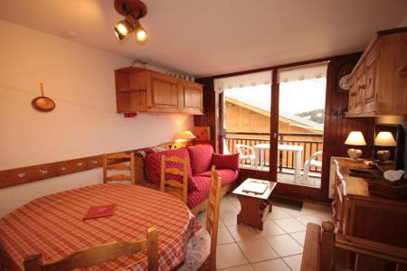 Rent in ski resort 3 room apartment 8 people (02) - Résidence Neige d'Or - Les Saisies - Living room