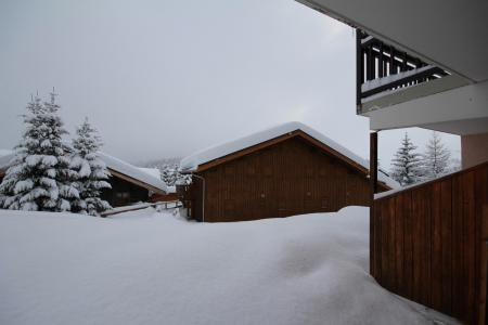 Rent in ski resort 2 room apartment 5 people (08) - Résidence Neige d'Or - Les Saisies - Winter outside