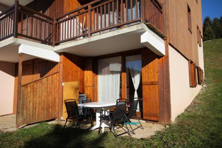 Rent in ski resort 2 room apartment 5 people (08) - Résidence Neige d'Or - Les Saisies