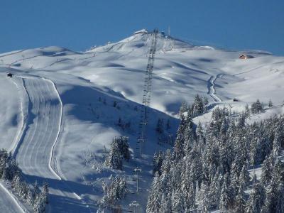 Rent in ski resort Résidence Skyline - Les Saisies - Winter outside