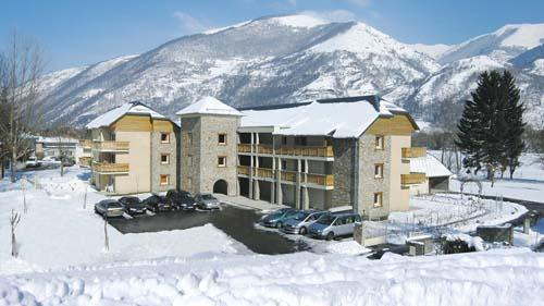 Location appartement au ski Residence Lagrange Les Pics D'aran