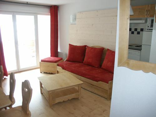 Location au ski Residence Lagrange Les Pics D'aran - Luchon-Superbagneres - Coin séjour