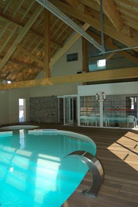 Location au ski Residence Lagrange Les Pics D'aran - Luchon-Superbagneres - Piscine