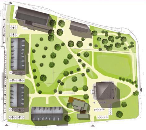 Location au ski Residence Les Jardins De Ramel - Luchon-Superbagneres - Plan
