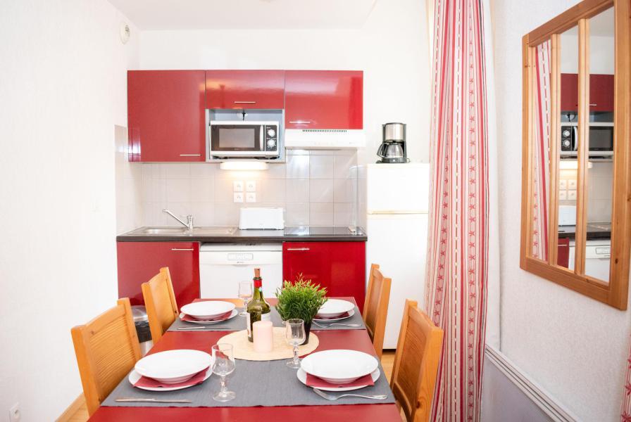 Аренда на лыжном курорте Апартаменты 2 комнат 4 чел. (25) - Résidence Val de Jade - Luchon-Superbagnères - Двухспальная кровать