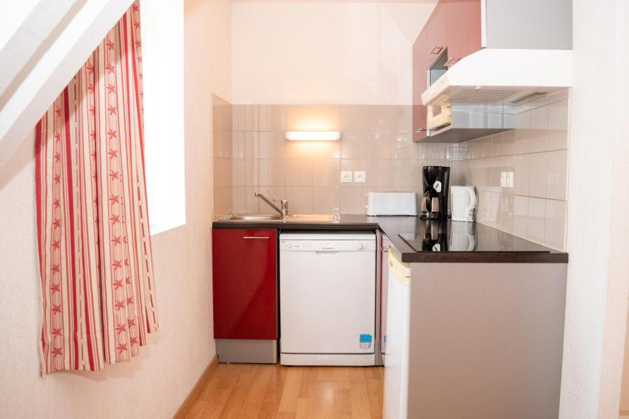 Аренда на лыжном курорте Апартаменты 2 комнат 4 чел. (43) - Résidence Val de Jade - Luchon-Superbagnères - Небольш&