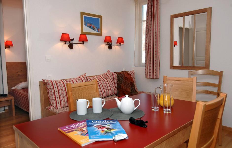 Location au ski Résidence Val de Jade - Luchon-Superbagnères - Coin repas
