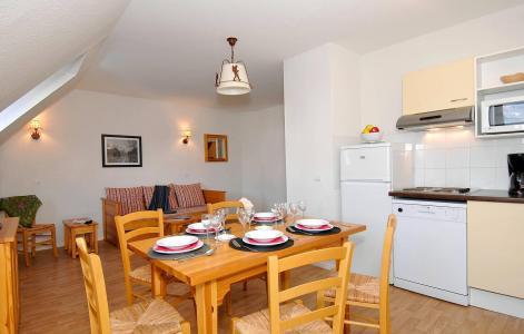 Location au ski Résidence Illixon - Luchon-Superbagnères - Coin repas