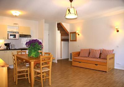 Location au ski Residence Illixon - Luchon-Superbagneres - Banquette-lit