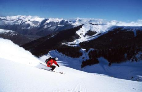 Location au ski Residence Les Jardins De Ramel - Luchon-Superbagneres - Extérieur hiver