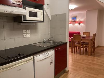 Аренда на лыжном курорте Квартира студия для 3 чел. (44) - Résidence Val de Jade - Luchon-Superbagnères - Кухня