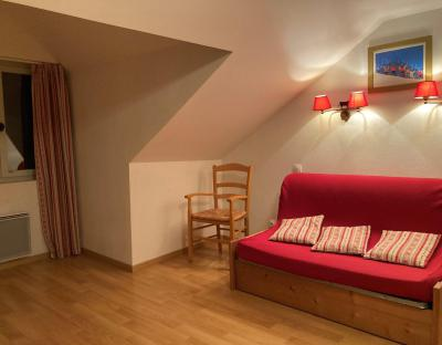 Аренда на лыжном курорте Квартира студия для 3 чел. (44) - Résidence Val de Jade - Luchon-Superbagnères - Диван