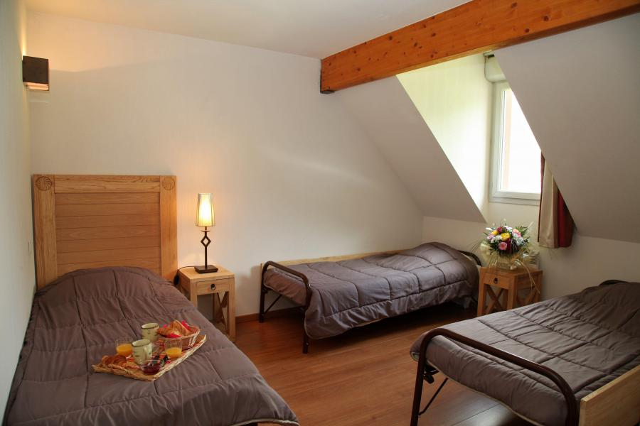 Rent in ski resort 3 room duplex apartment cabin 8 people - Résidence Domaine du Val de Roland - Luz Ardiden - Single bed