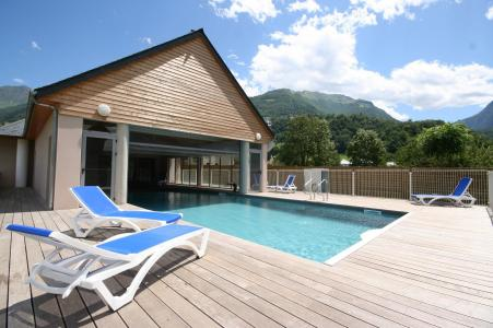 Location au ski Residence Domaine Du Val De Roland - Luz Ardiden - Piscine