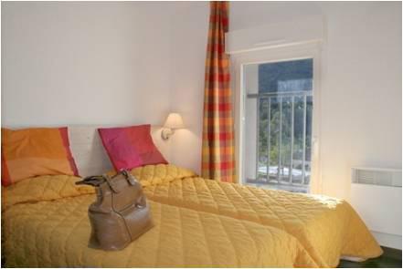 Location au ski Appartement 2 pièces 4 personnes - Residence Pyrenees Zenith - Luz Ardiden - Chambre