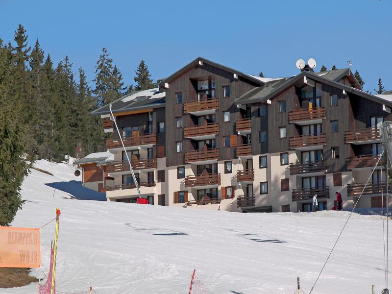 Vakantie in de bergen Appartement 2 kamers 4 personen (6) - Les Balcons de l'Etale - Manigod l'Etale - Buiten winter