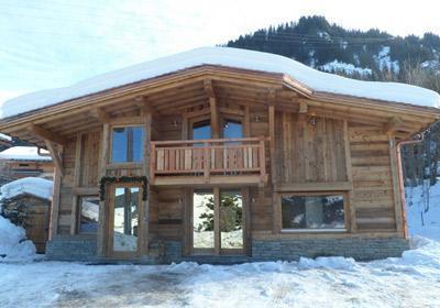 Location au ski Chalet Mont Wood - Megève - Extérieur hiver