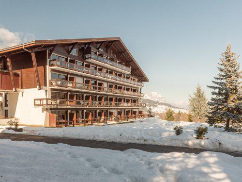 Location au ski Residence Maeva Le Mont D'arbois - Megève - Extérieur hiver