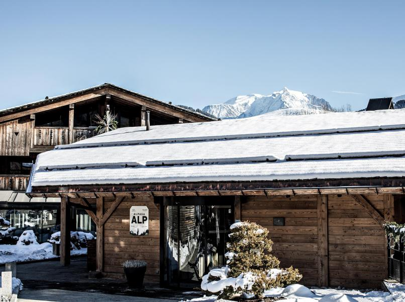 Vacaciones en montaña Hôtel Alpaga - Megève - Invierno