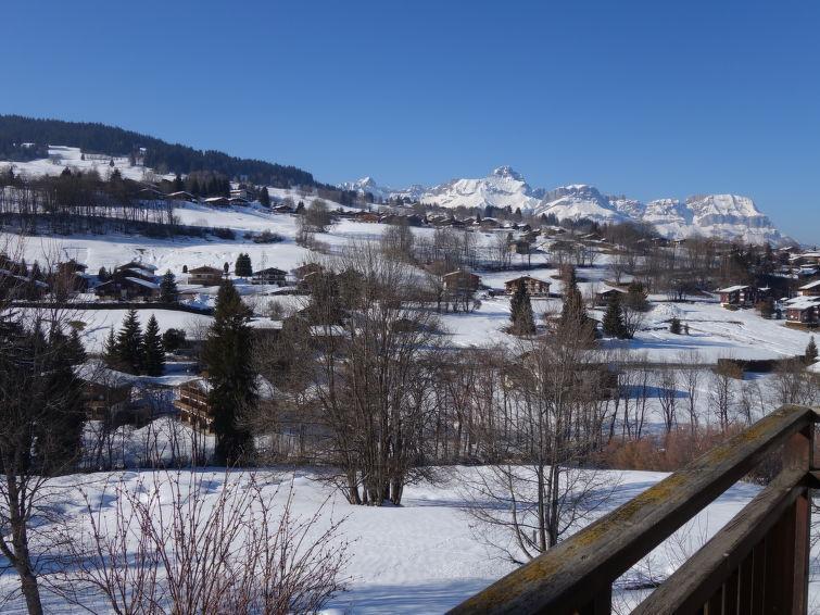 Аренда на лыжном курорте Апартаменты 1 комнат 3 чел. (1) - Le Petit Sapin - Megève - зимой под открытым небом