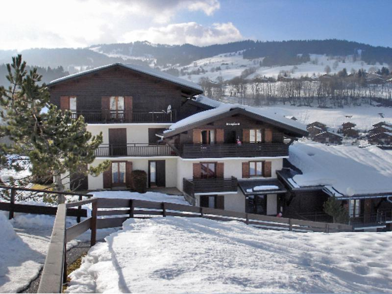 Holiday in mountain resort 1 room apartment 2 people (1) - Le Sapin - Megève - Winter outside