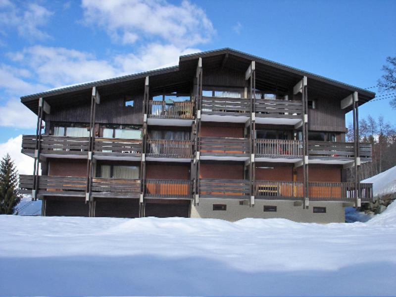 Holiday in mountain resort 1 room apartment 4 people (1) - Prairial - Megève - Winter outside