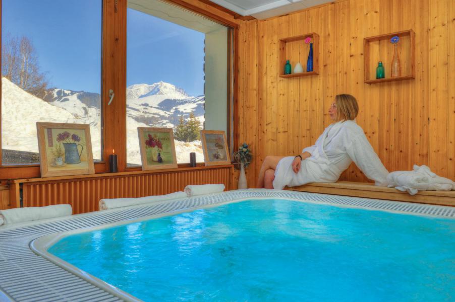 Аренда на лыжном курорте Résidence Les Chalets du Prariand - Megève - Джакуззи