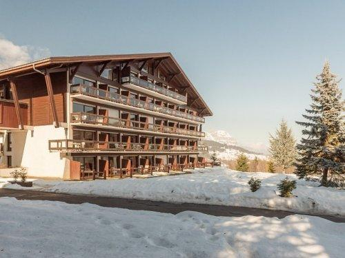 Skiverleih Résidence Pierre & Vacances le Mont d'Arbois - Megève - Draußen im Winter