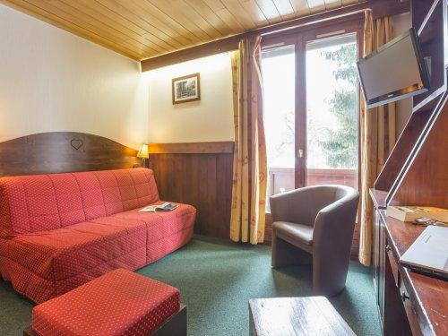 Аренда на лыжном курорте Résidence Pierre & Vacances le Mont d'Arbois - Megève - Салон