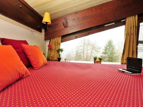 Skiverleih Résidence Pierre & Vacances le Mont d'Arbois - Megève - Schlafzimmer