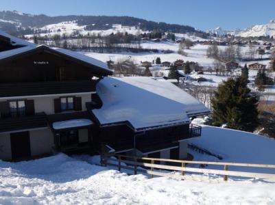 Rent in ski resort 1 room apartment 3 people (1) - Le Petit Sapin - Megève - Winter outside