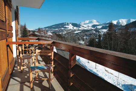 Аренда на лыжном курорте Résidence Les Chalets du Prariand - Megève - Балкон