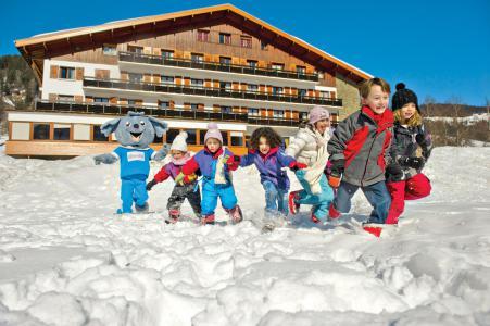 Location Megève : Résidence Les Chalets du Prariand hiver