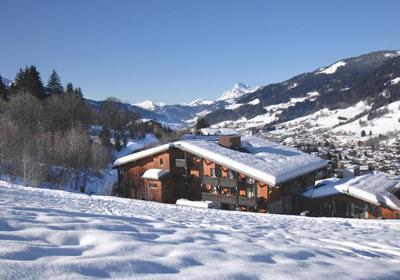 Location Megève : Residence Lune Argent hiver