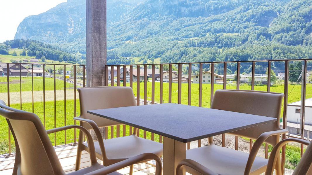 Location au ski Résidence Swisspeak Resorts Meiringen - Meiringen-Hasliberg - Balcon
