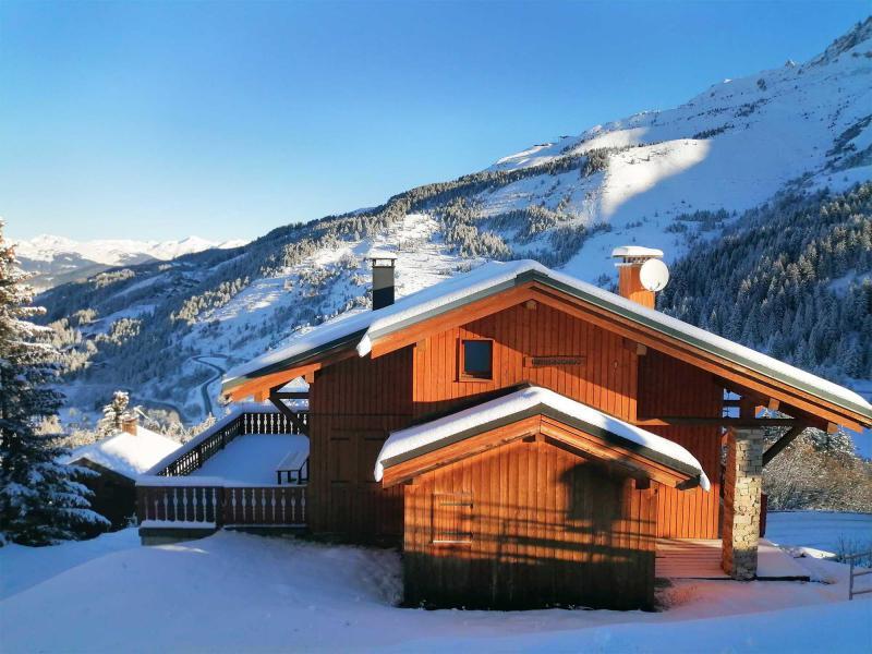 Alquiler al esquí Chalet  L'Arclusaz - Méribel-Mottaret - Invierno