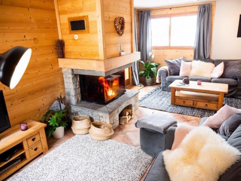 Alquiler al esquí Chalet  L'Arclusaz - Méribel-Mottaret - Estancia