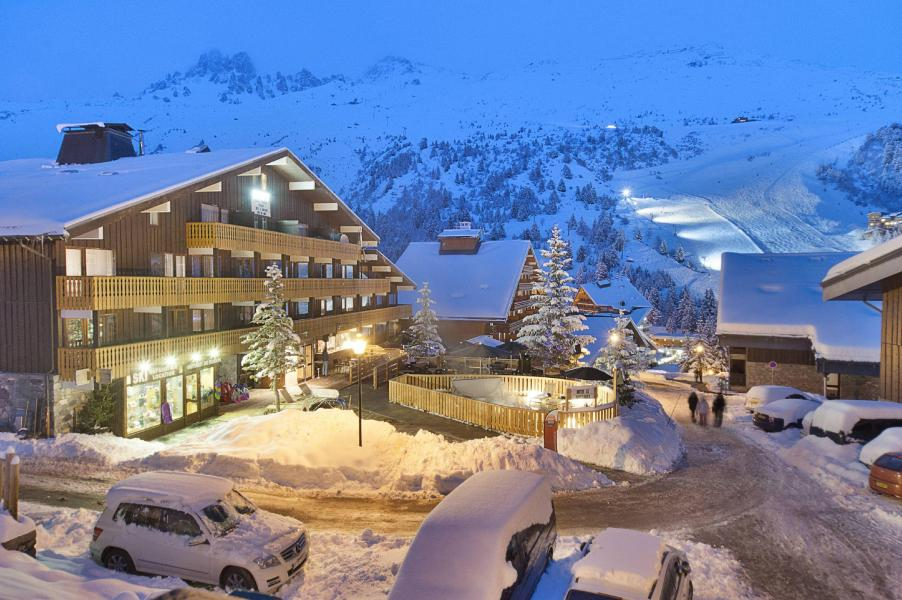 Vacances en montagne Hôtel le Mottaret - Méribel-Mottaret - Extérieur hiver