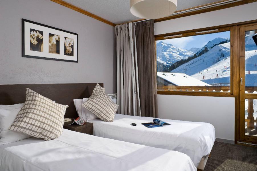 Alquiler al esquí Hôtel le Mottaret - Méribel-Mottaret - Camas twin