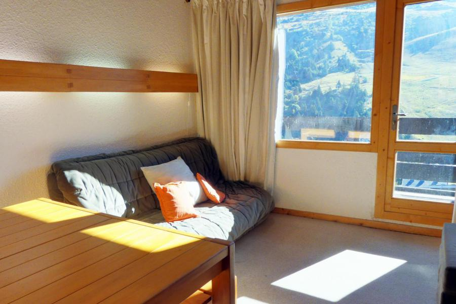 Location au ski Appartement 2 pièces mezzanine 6 personnes (014) - Résidence Aiguille du Fruit - Méribel-Mottaret - Séjour