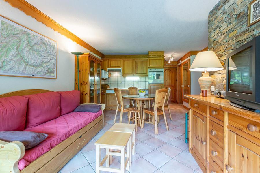 Location au ski Appartement 3 pièces 6 personnes (004) - Résidence Alpages A - Méribel-Mottaret - Séjour