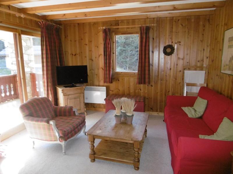 Alquiler al esquí Apartamento 4 piezas cabina para 8 personas (003) - Résidence Alpages B - Méribel-Mottaret - Estancia