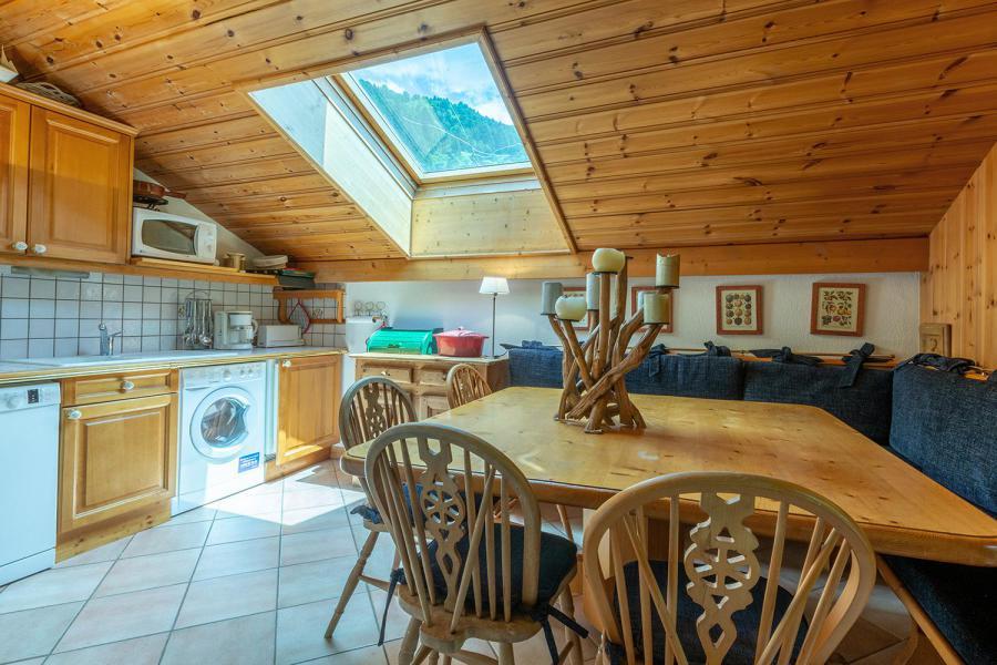 Location au ski Appartement 3 pièces mezzanine 6 personnes (011) - Résidence Alpages C - Méribel-Mottaret - Cuisine